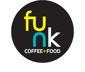 Funk Coffee+Food - Logo
